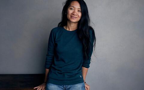 Kuldlõvi võitnud režissöör Chloe Zhao.