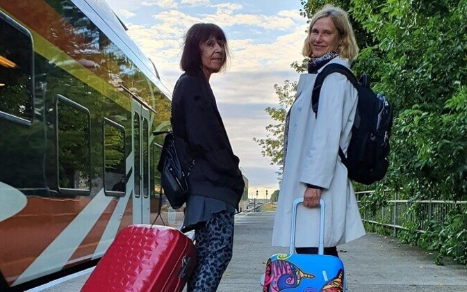 Triinu Ojamaa ja Leena Kurvet-Käosaar