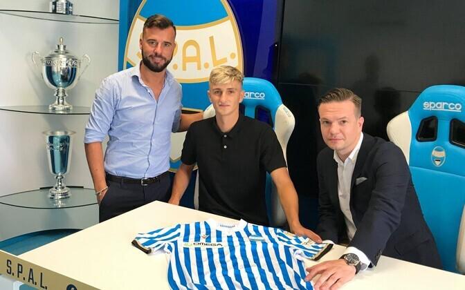 Kristofer Pihl siirdub mängima Itaalia Serie B klubisse S.P.A.L.