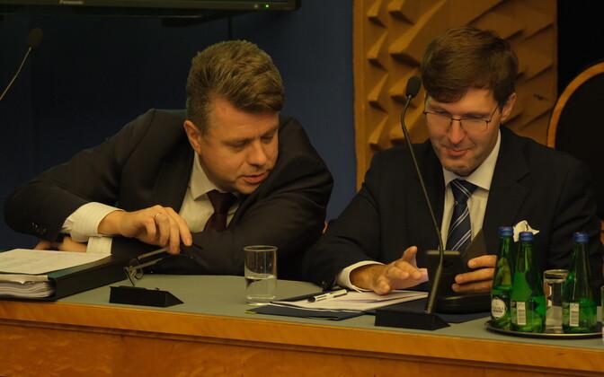 Urmas Reinsalu ja Martin Helme