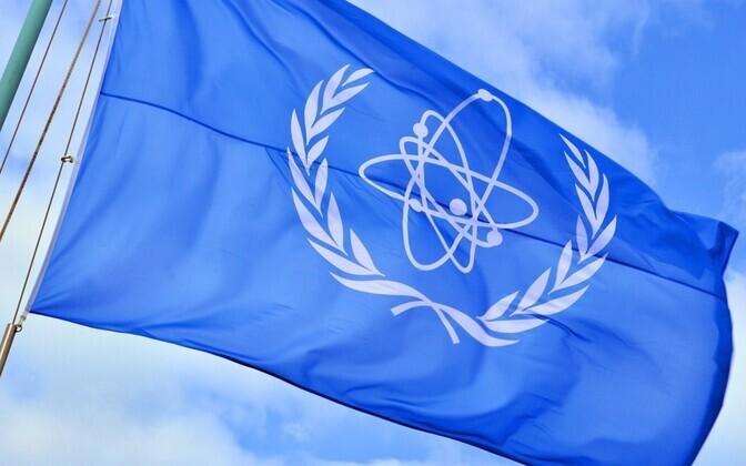 International Atomic Energy Agency flag.