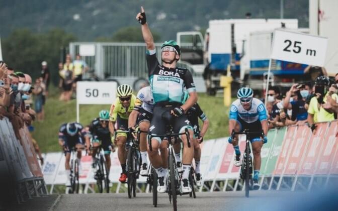 Martin Laas triumfeeris Slovakkia velotuuri avaetapil.