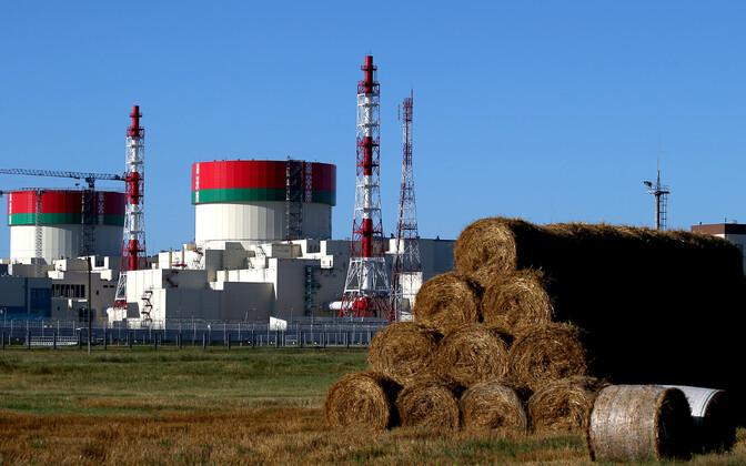 Astravetsi tuumaelektrijaam.