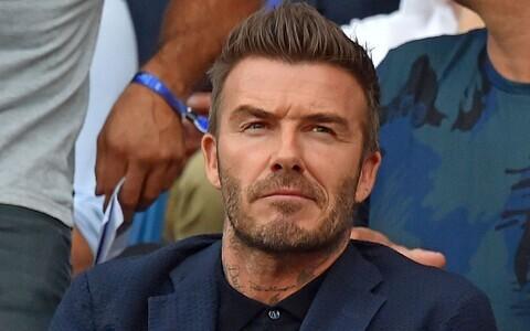 Endine jalgpallur David Beckham.