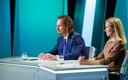 SDE chairman Indrek Saar and Reform Party chairman Kaja Kallas on ETV's