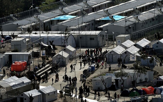 Лагерь для беженцев Мория.