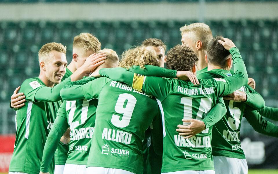 Jalgpalli Euroopa liiga: FC Flora - KR Reykjavik
