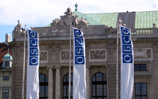 Flags at the Organization for Security and Cooperation in Europe (OSCE)