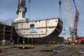 На финской судоверфи Раума установили киль на быстроходное судно MyStar.