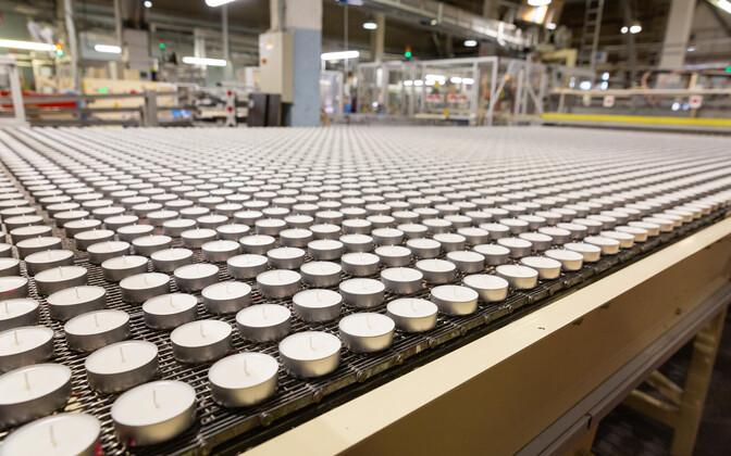 Teeküünlade tootmine Eestis