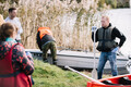 World Cleanup Day in Lasnamäe.