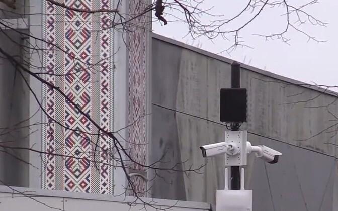 Камеры видеонаблюдения в Курессааре.