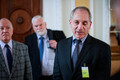 Louis Freeh meets with MPs the Riigikogu.