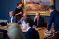 Совместное заседание парламентских спецкомиссий.