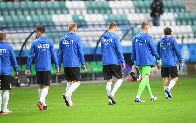Eesti jalgpalli rahvuskoondis ei tea veel, kas saab kodumängud Eestis mängida.
