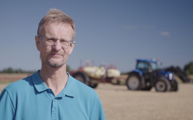 Põllumajandusettevõtja ja Põllumajandus-kaubanduskoja nõukogu esimees Olav Kreen