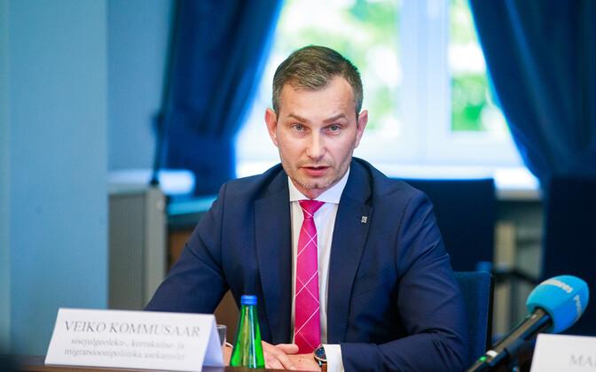 Вице-канцлер МВД Вейко Коммусаар.
