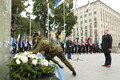 Vastupanuvõitluse päeva tähistamine Talinnas: Tallinna volikogu esimees Tiit Terik
