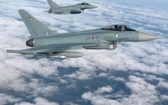 Eurofighter Typhoon in German Air Force service.