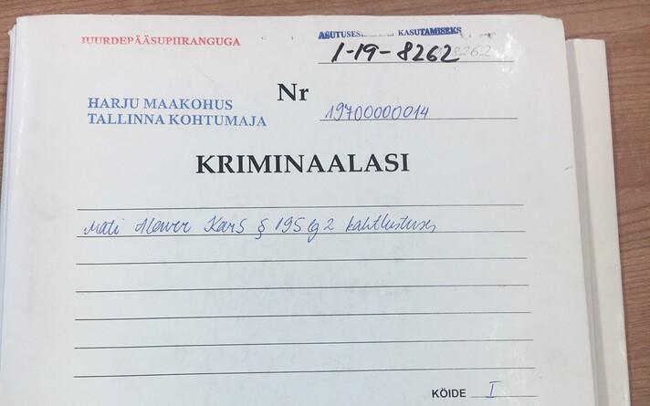 Kohus avalikustas sel nädalal osaliselt Mati Alaveri toimiku.