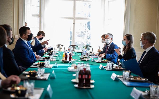 Jüri Ratase ja Sanna Marini kohtumine teisipäeval Helsingis