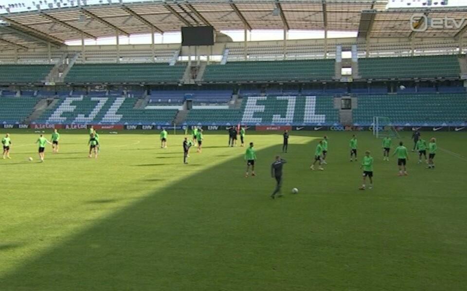 Tallinna FC Flora treening