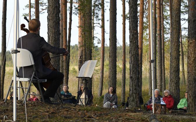 Концерт на болоте Рюйтли.