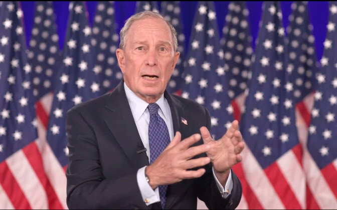 USA miljardär Michael Bloomberg.
