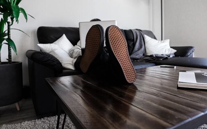 За использование своего жилья в качестве рабочего пространства в Финляндии можно получить налоговый вычет. Иллюстративная фотография.