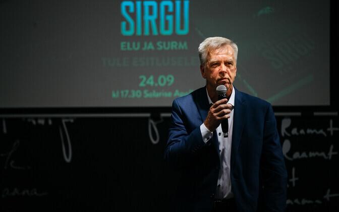 Kalle Muuli esitles ajaloobiograafilist raamatut Artur Sirgust