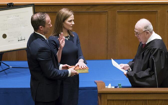 Barrett vannutamisel föderaalse apellatsioonikohtu kohtunikuks.