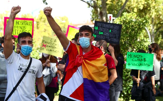 Protestijad Madridis.