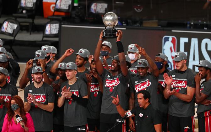 Idakonverentsi meistriks kroonitud Miami Heat