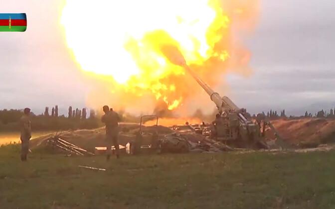 Aserbaidžaani relvajõud tegevuses.