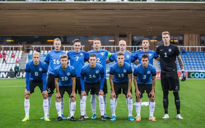 Молодежная сборная Эстонии по футболу.