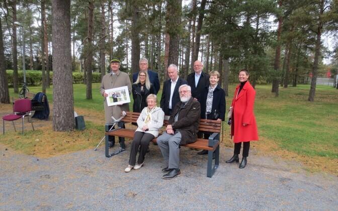 Nõmmel avati akadeemik Endel Lippmaa mälestuspink.