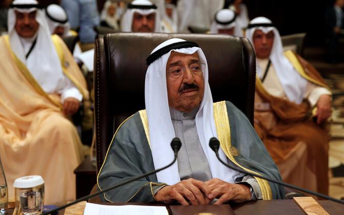 Kuveidi emiir šeik Sabah Al-Ahmad Al-Sabah.