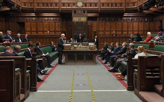 Briti parlament.