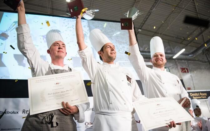 Соревнование поваров Bocuse d'Or в Таллинне в 2015 году.