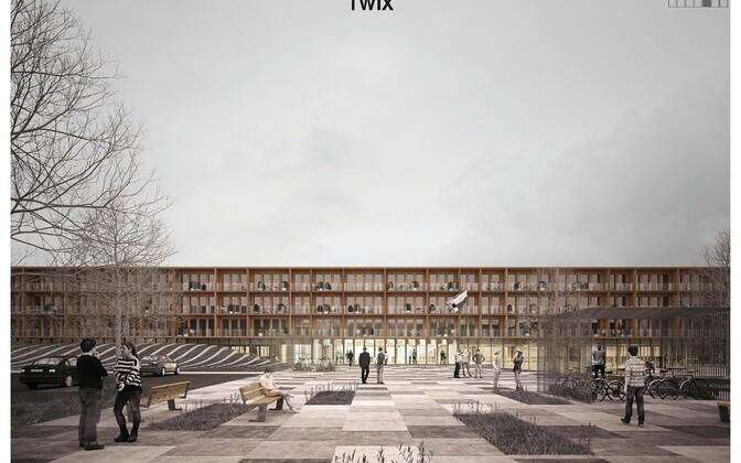 Учебный комплекс на улице Кересе изначально планировали построить к сентябрю 2020 года.