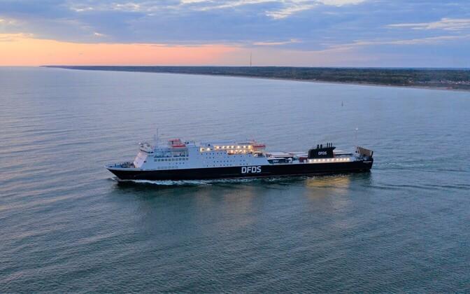 DFDS's ship Sirena Seaways.