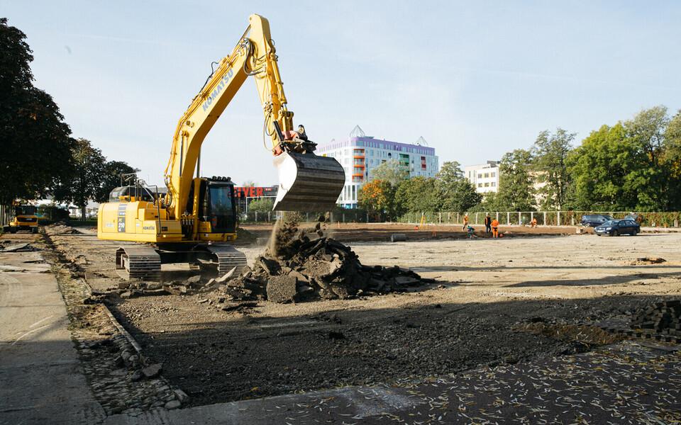 Kadrioru staadioni harjutusväljakute remont