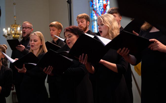 Estonian Philharmonic Chamber Choir.