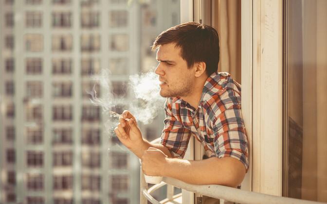 Suitsetaja.