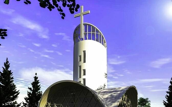 В Йыгева строят лютеранскую церковь.