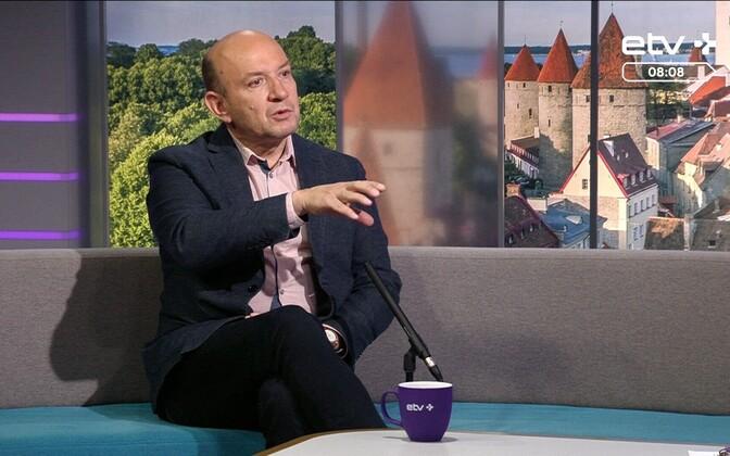 Rahvusvahelise kaitse- ja julgeolekukeskuse teadur Kalev Stoicescu