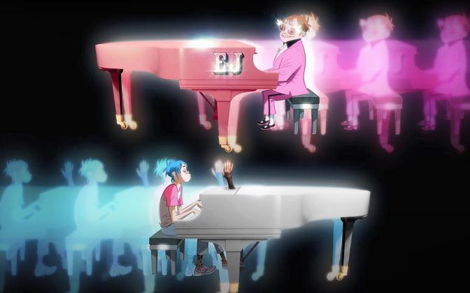 Gorillaz ja Elton John