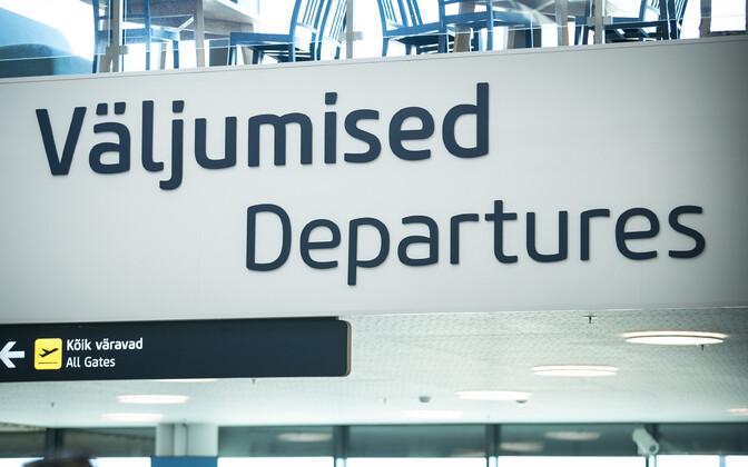 Таллиннский аэропорт. Иллюстративная фотография.