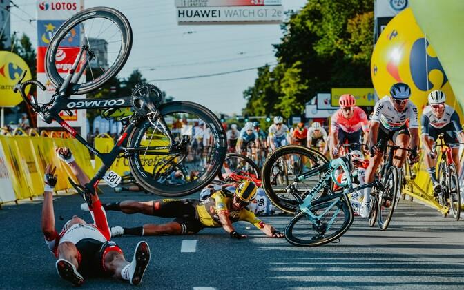Poola velotuuri esimese etapi finiš