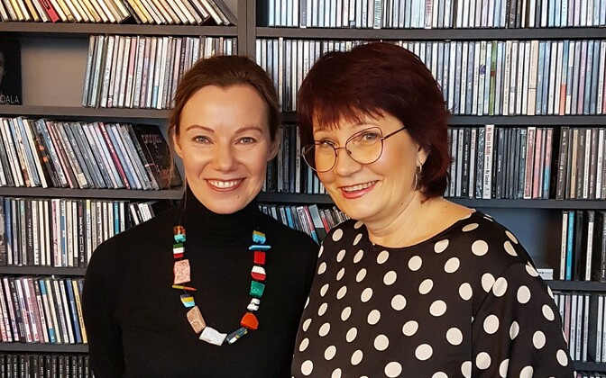 Saatejuhid Katrin Saali Saul ja Monika Koppel.